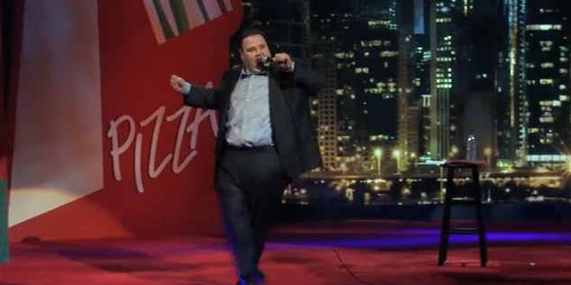"""John Pinette: """"Still Hungry"""" as a comedian after 25 years"""