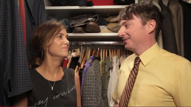 """Kristen Wiig spends """"7 Minutes in Heaven"""" with Mike O'Brien"""