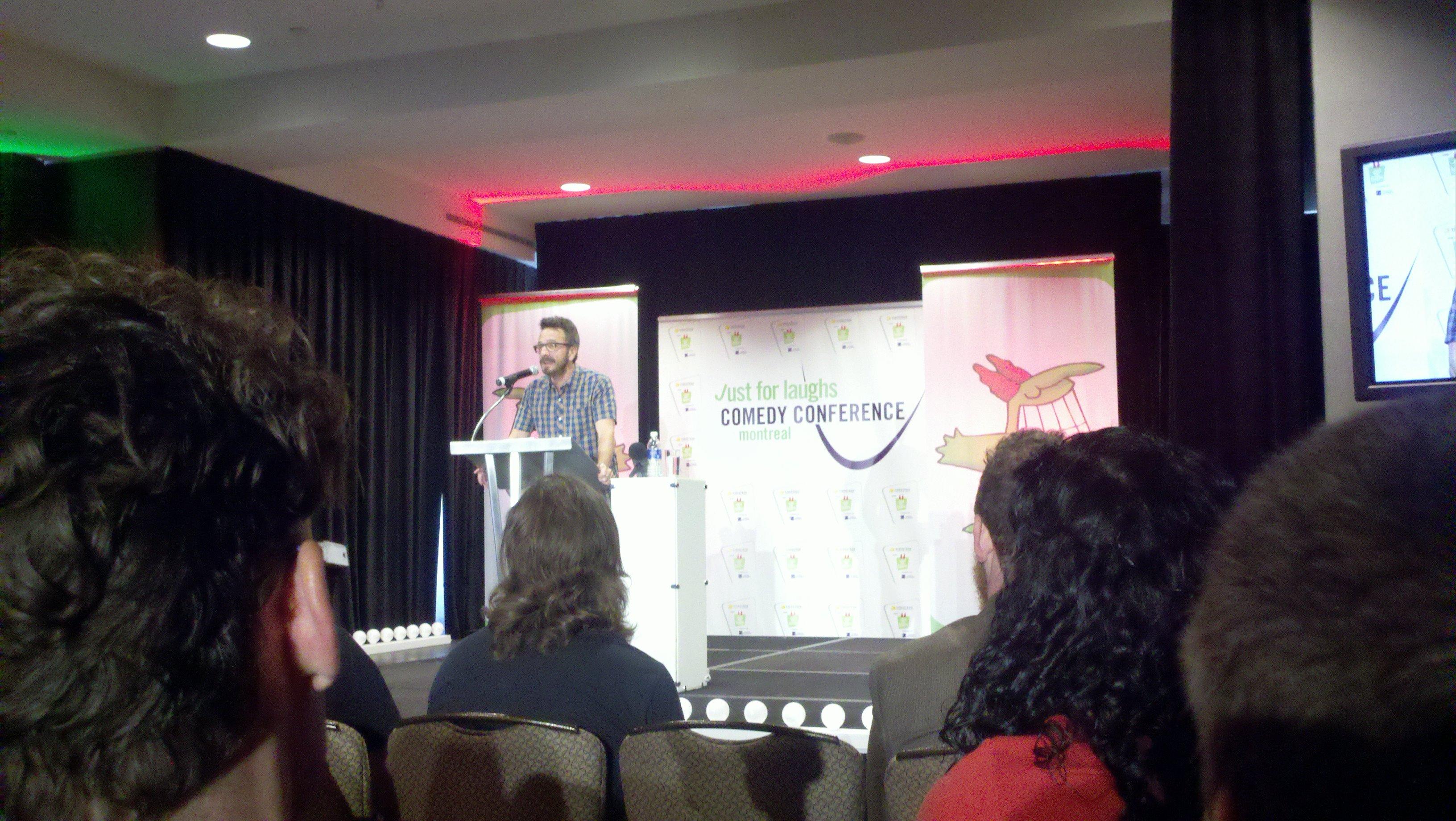 Marc Maron's powerful keynote address at Montreal's JFL 2011
