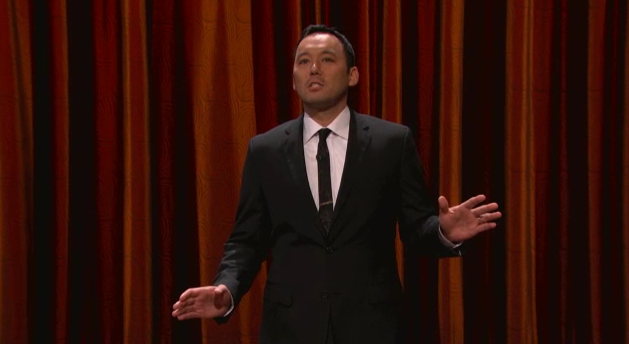 On Conan, Steve Byrne thinks Mother Nature is out to get us