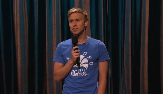 Russell Howard makes his U.S. TV debut on Conan