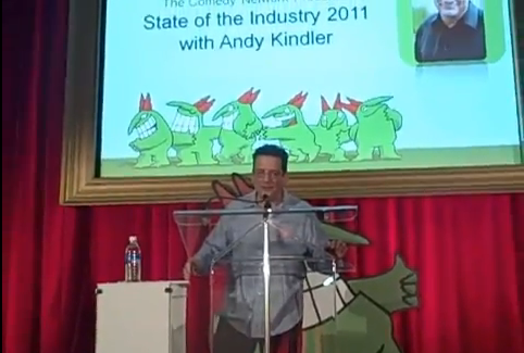Choice quotes from Andy Kindler's State of the Industry 2011