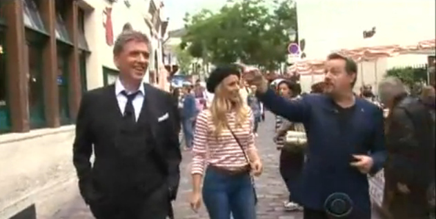 Eddie Izzard and Kristen Bell join Craig Ferguson for a stroll through Paris