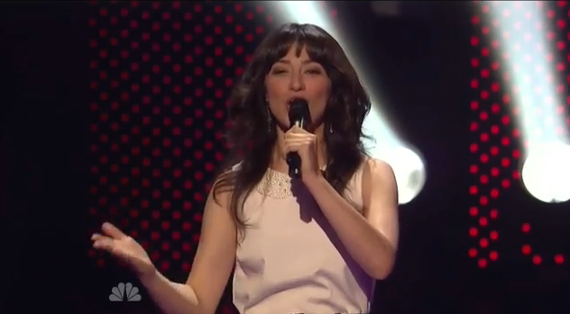 Melissa Villasenor's quarterfinal performance on America's Got Talent 2011