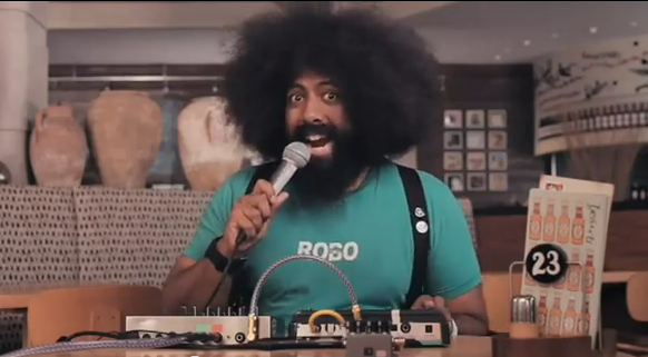 Reggie Watts on the sounds you make for Nando's chicken