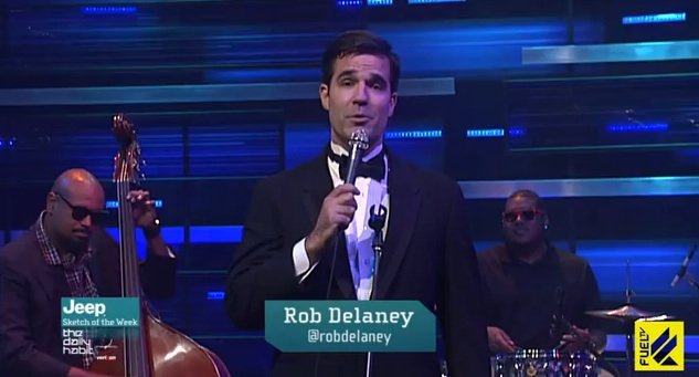 """From Twitter to TV: Enter Rob Delaney's Twit Lounge on Fuel TV's """"The Daily Habit"""""""