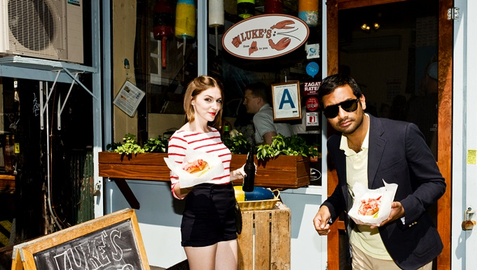 New York Times seeks a food critic; top editor acknowledges Aziz Ansari's interest in same