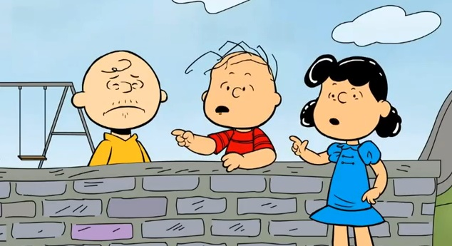 You're entering puberty, Charlie Brown?!? What if the Peanuts gang grew up?