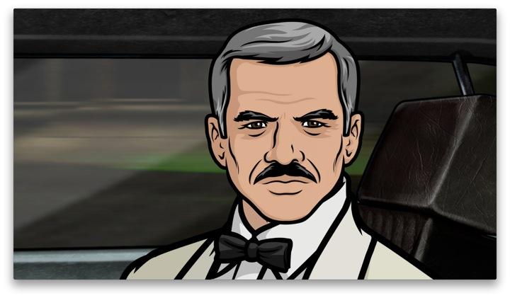 First look: Burt Reynolds as Burt Reynolds on FX's Archer