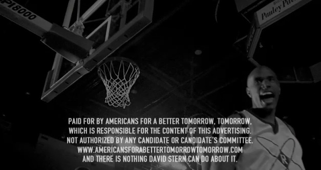 Guess who doesn't want to air Colbert SuperPAC's ad supporting the NBA owners during lockout