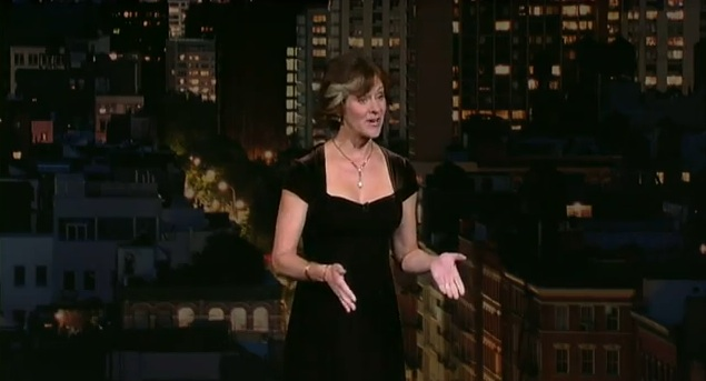 Karen Rontowski's network TV debut on Late Show with David Letterman