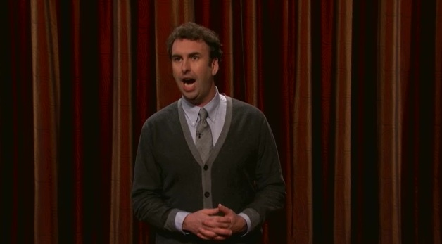 On Conan, Matt Braunger gets awkward with girls, ponders a lonely man existence