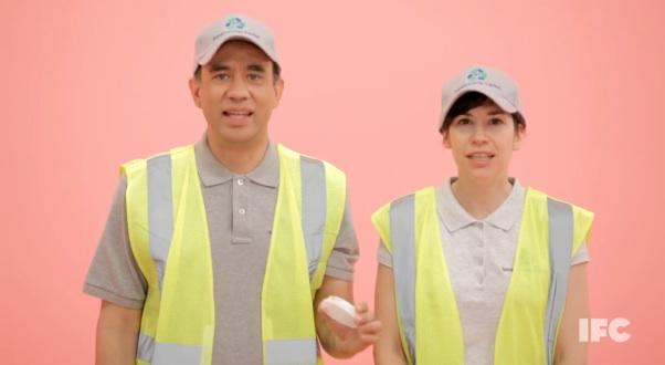 "Sneak peeks at IFC's Portlandia, season two: ""Sanitation Twins"""