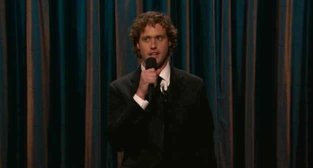 On Conan, TJ Miller endures an awkward father-daughter moment