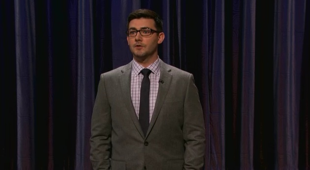 On Conan, Tommy Johnagin recalls visiting an OBGYN by mistake