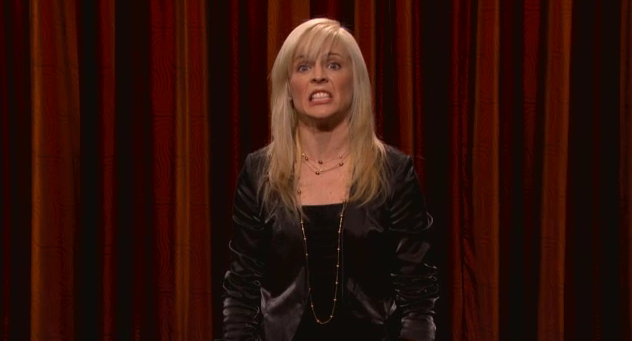 On Conan, Maria Bamford inhabits the baby Jesus and Paula Deen's sugar dreams