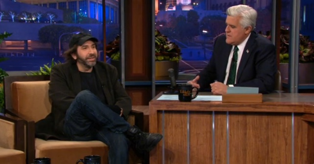 "Dave Attell visits The Tonight Show, jokes with Kristen Stewart and hawks ""Old Porn"""