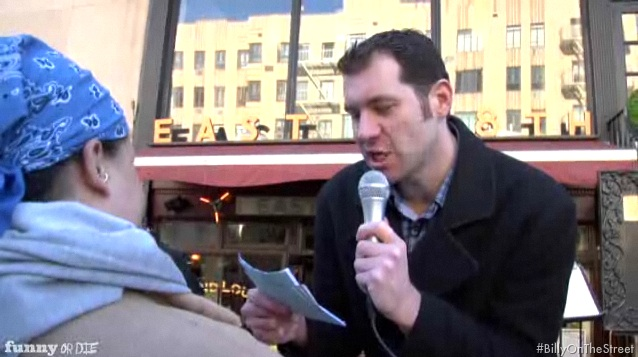 "First look at Billy Eichner's ""Billy on the Street"""