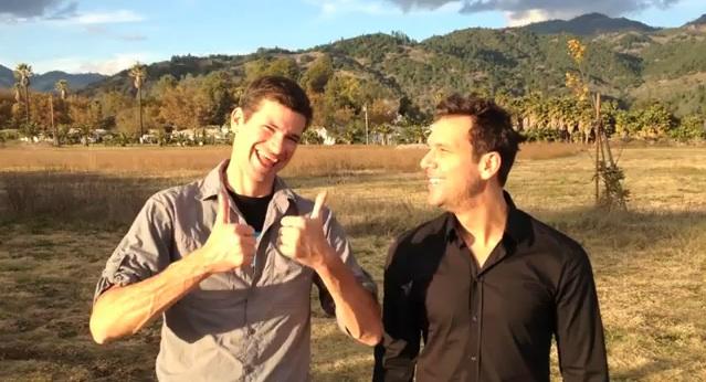 "Dane Cook ribs Daniel Tosh in video: ""Dane.1 & Tosh.0"""