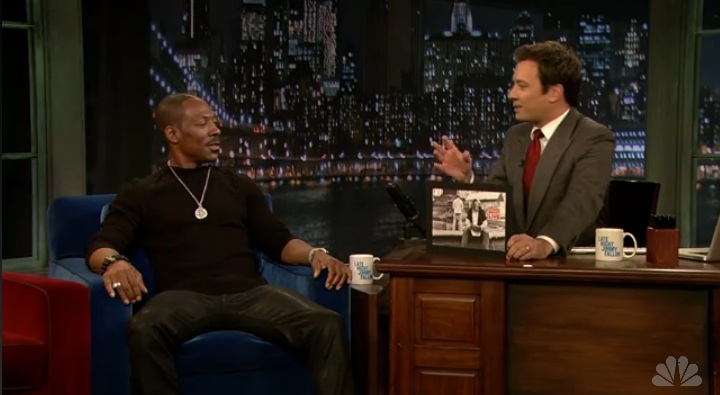 Jimmy Fallon gets Eddie Murphy to reminisce about SNL