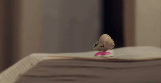 "A new video and book for ""Marcel the Shell with Shoes On"""