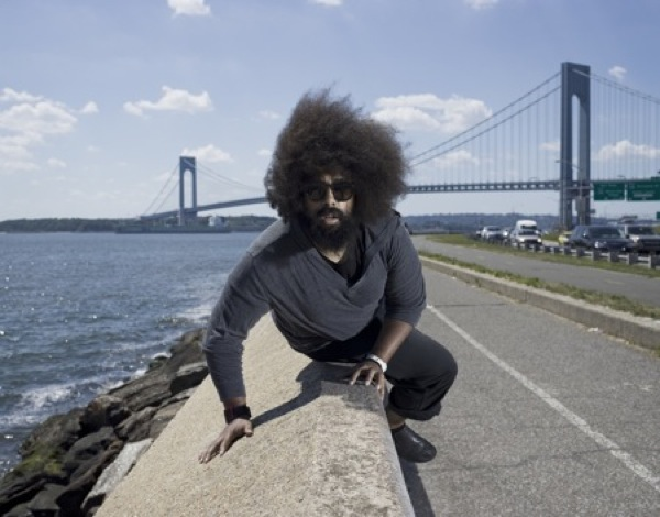 "Hear an exclusive new song from Reggie Watts, ""Peaches & Cobbler"""
