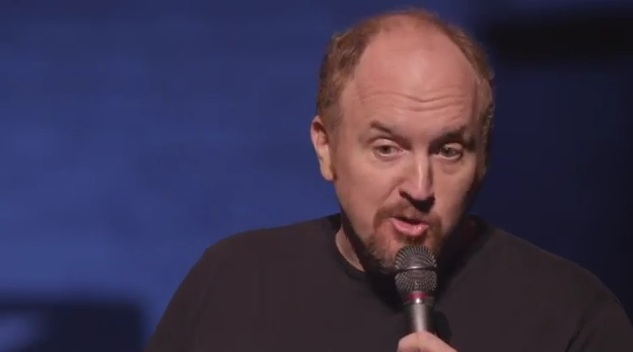 "Outtake from Louis CK's ""Live at the Beacon Theater"" special explores theories of evolution"
