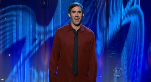 Michael Palascak reveals his food allergies and high-school football prowess on Ferguson