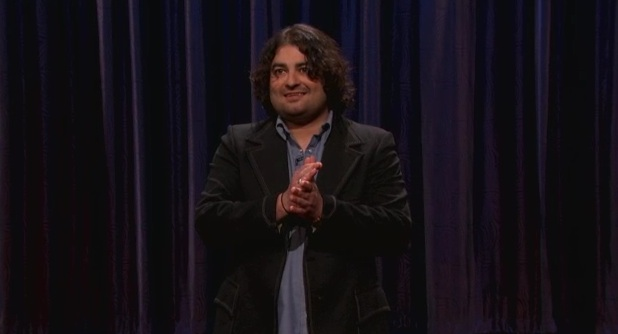 On Conan, Sean Patton is proud to be compared to an owl