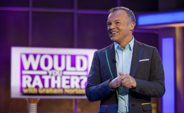 """BBC brings comedy panel shows to America with """"Would You Rather…? with Graham Norton"""""""