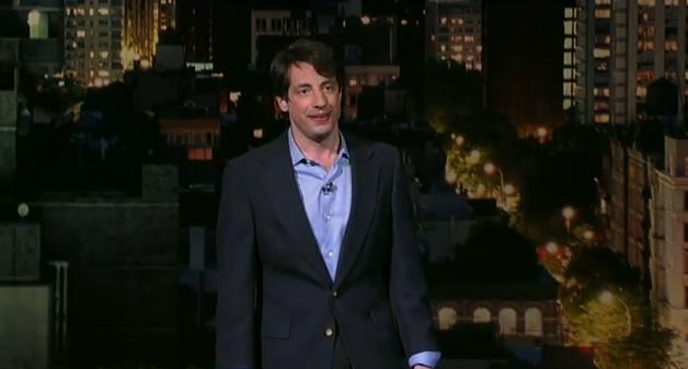 Dan Naturman on Late Show with David Letterman
