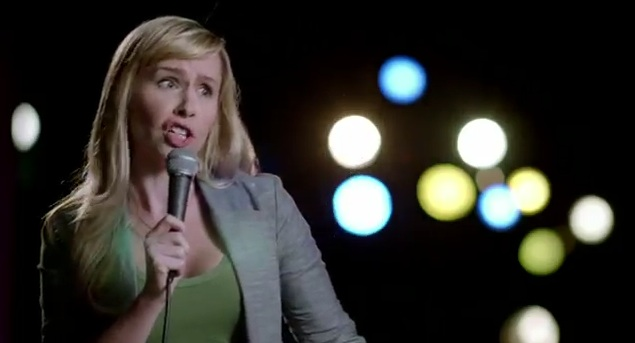 Stand-up For Real campaign: Andree Vermeulen for Kotex