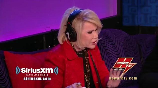Joan Rivers vs. Chelsea Handler on Howard Stern
