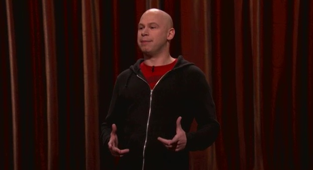 On Conan, John Roy talks video games, New Mexico and white people songs