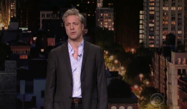 Nick Griffin on Letterman and working out when you're older