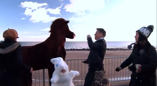 This music video celebrates Craig Ferguson's Late Late Show week in Scotland