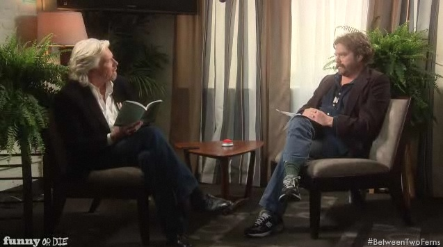 Previews for Between Two Ferns: A Fairytale of New York, with Zach Galifianakis