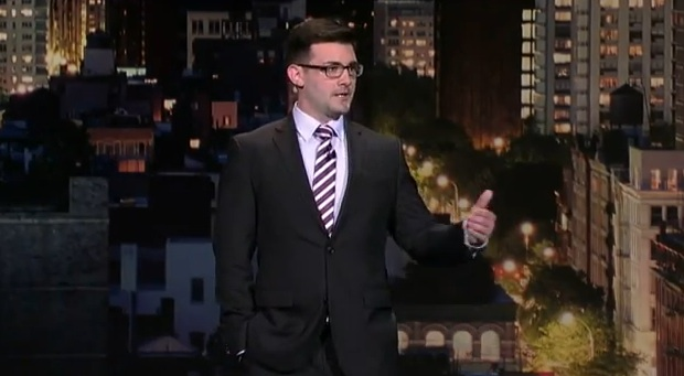 Tommy Johnagin talks cohabitation and love on Late Show with David Letterman
