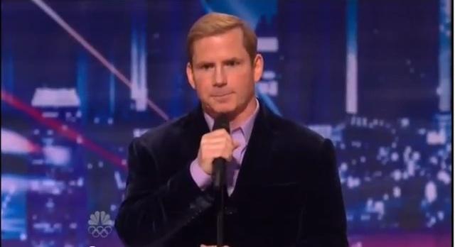 Tom Cotter's audition on America's Got Talent 7, season 2012
