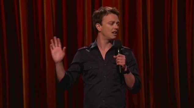 Trevor Boris on Conan