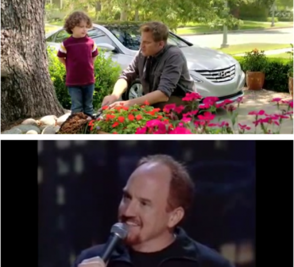 Hyundai ad Louis CK why