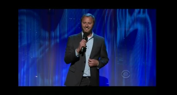 Rory Scovel on Late Late Show: Spare change, Batman and engagements