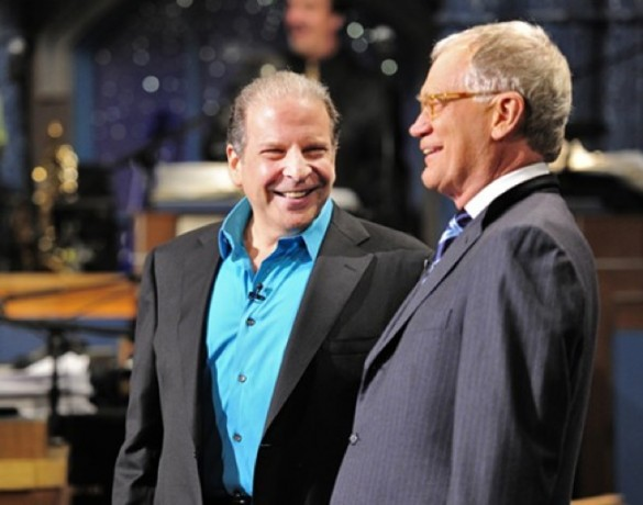 Eddie Brill and David Letterman