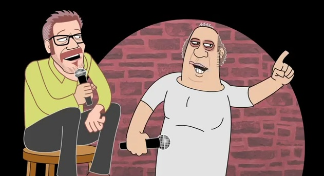"""Eddie Pepitone gets animated in this clip from the documentary, """"The Bitter Buddha"""""""