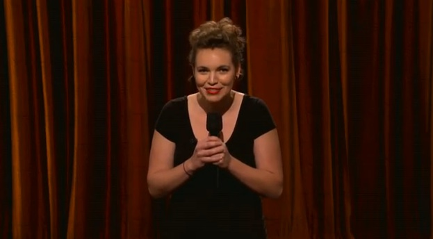 Beth Stelling's TV debut on Conan