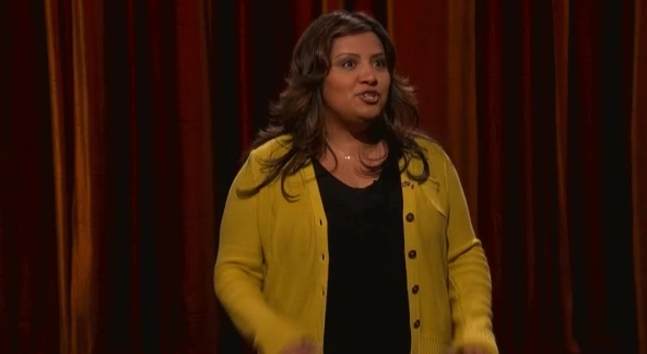 Cristela Alonzo's late-night debut on Conan