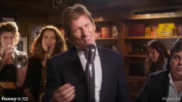 "Denis Leary's new song, ""Kiss My Ass"""