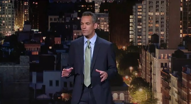 Moody McCarthy on Late Show with David Letterman