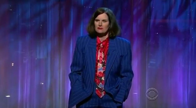 Paula Poundstone does stand-up and panel on Late Late Show with Craig Ferguson