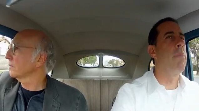 Jerry Seinfeld's new webseries: Comedians in Cars Getting Coffee